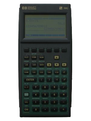 calculadora grafica hp38g