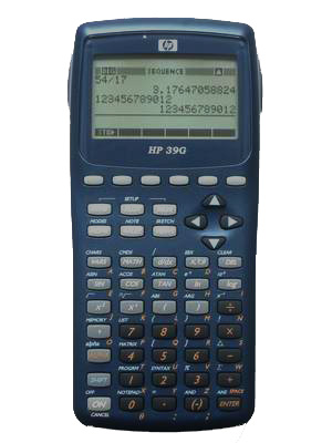 calculadora grafica hp39g