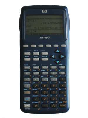 calculadora grafica hp40g