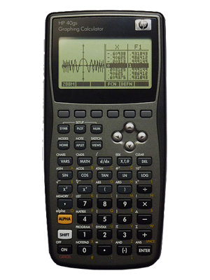 calculadora grafica hp40gs
