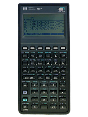 calculadora grafica hp48g+