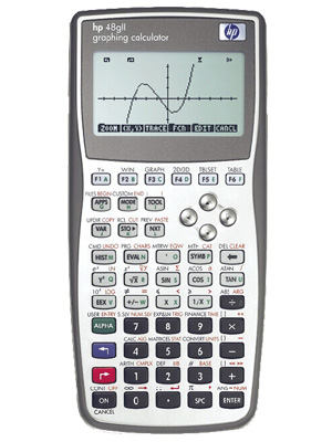 calculadora grafica hp48gII