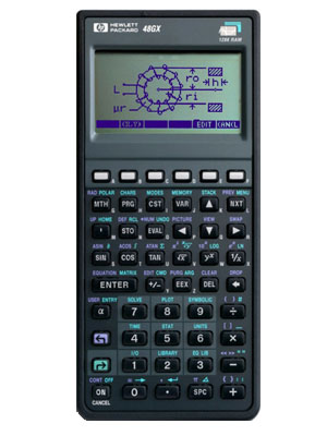 calculadora grafica hp48gx