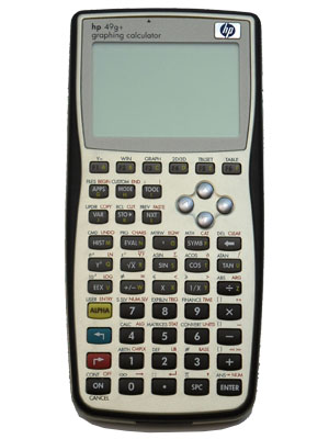 calculadora grafica hp49g+