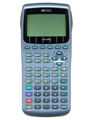 calculadora grafica hp49g