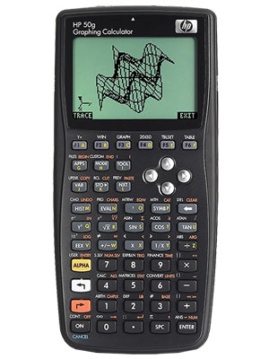 calculadora grafica hp50g