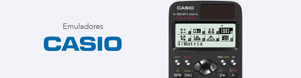 Software emulador para calculadoras CASIO