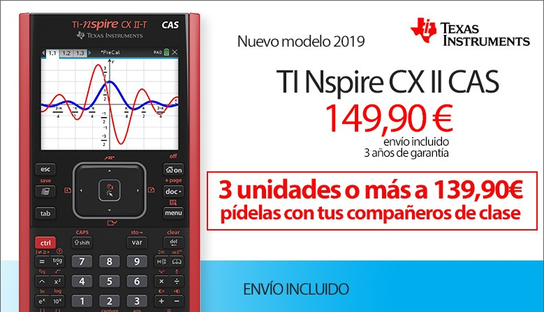 TI Nspire CX II CAS